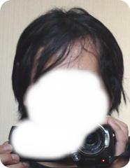 3.5ヶ月目の髪